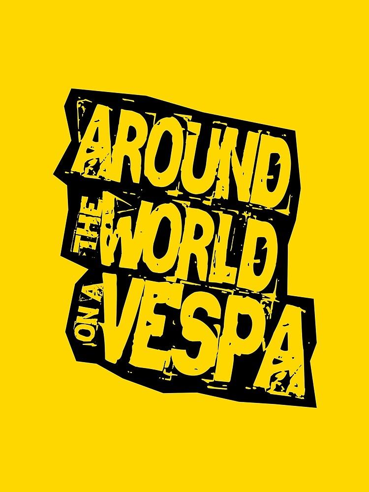 RTW on Vespa by worldvespa