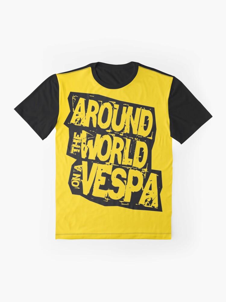 Alternate view of RTW on Vespa Graphic T-Shirt