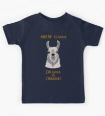 House Llama Kids Tee