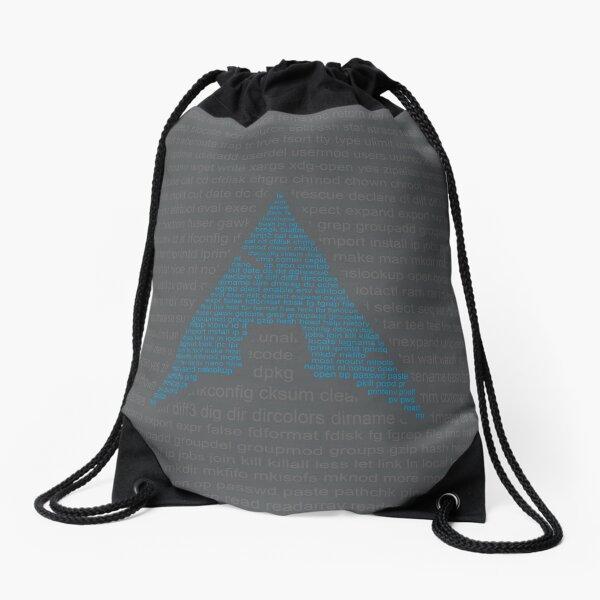 Arch Linux - Commands Drawstring Bag