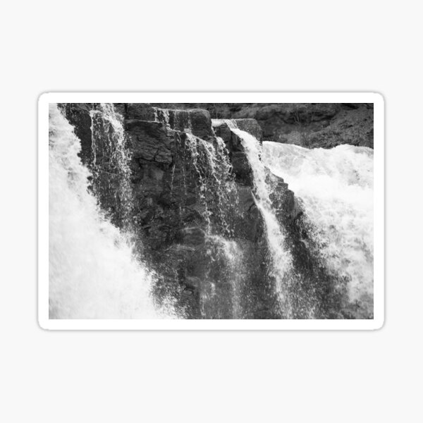 Waterfall Outdoors in Nature Sticker