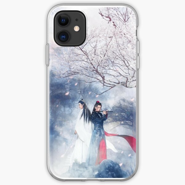 WangXian Under Cherry Blossoms - The Untamed iPhone Soft Case
