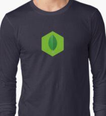 MongoDB inside of Node.js Long Sleeve T-Shirt