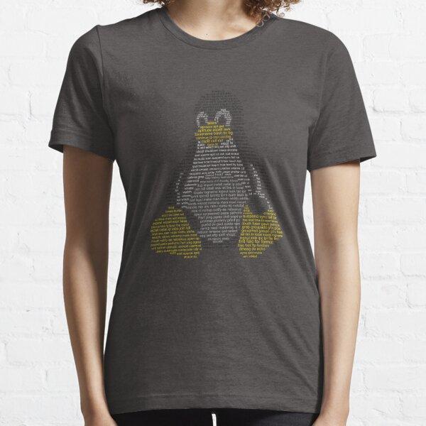 Linux Tux - Comandos Camiseta esencial