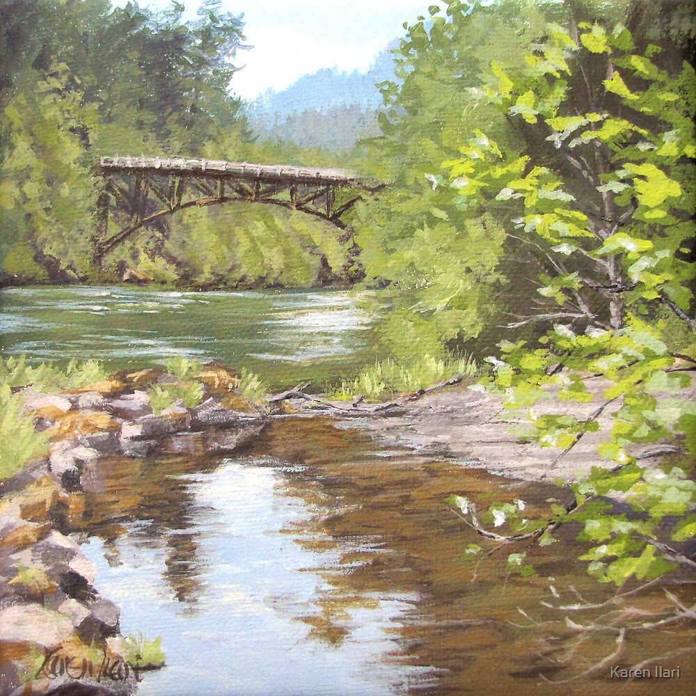 Bridge View by Karen Ilari