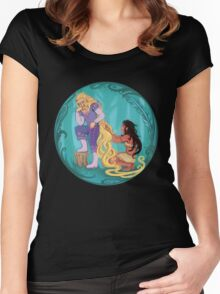 Genderbent Princesses Women's Fitted Scoop T-Shirt
