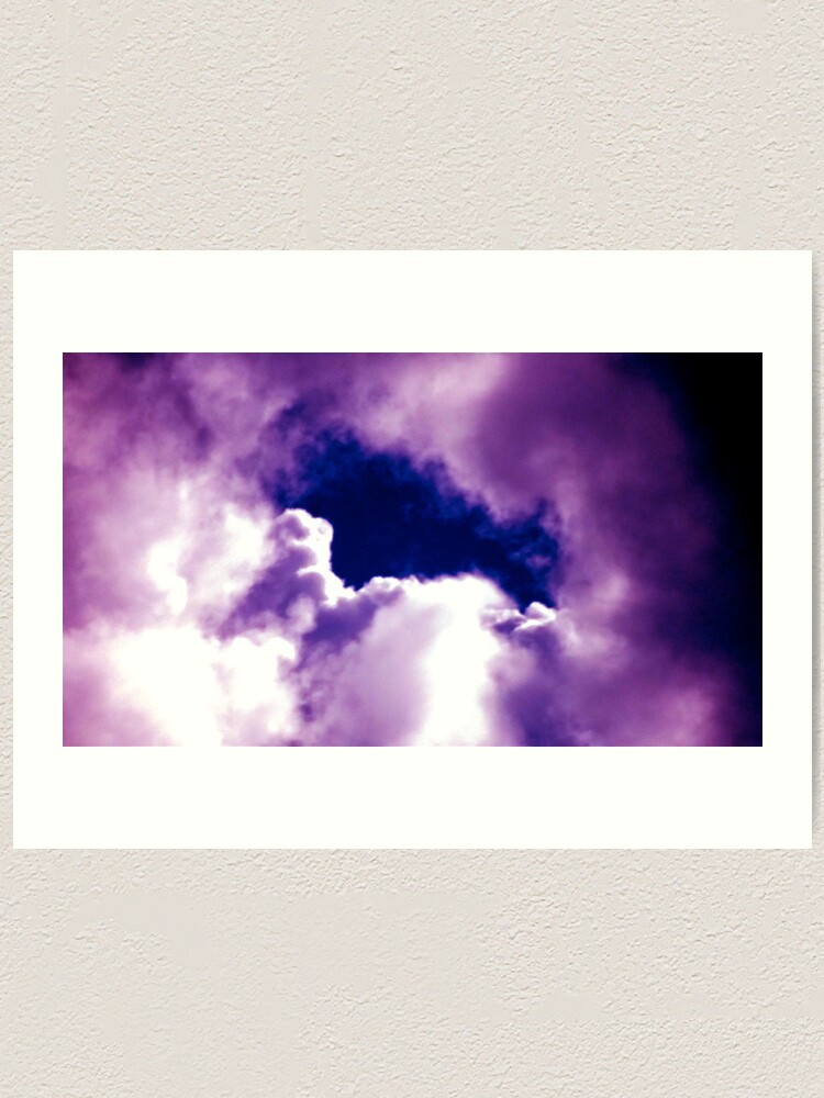 Alternate view of Clouds Art Print