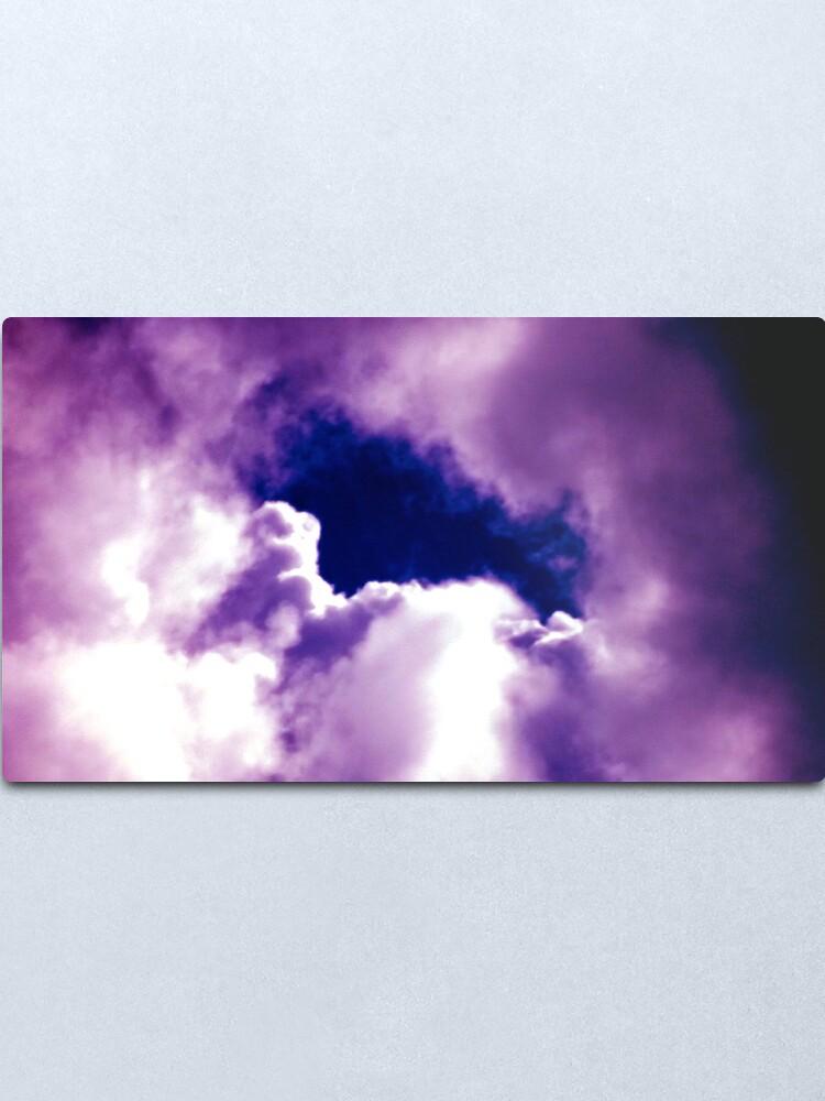 Alternate view of Clouds Metal Print