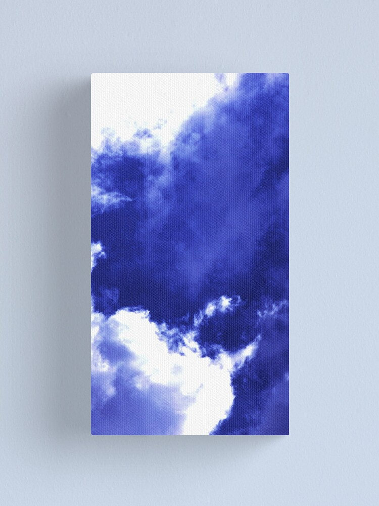 Alternate view of Unusual Cloud Formations Canvas Print