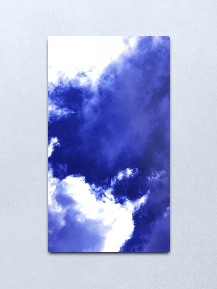 Alternate view of Unusual Cloud Formations Metal Print