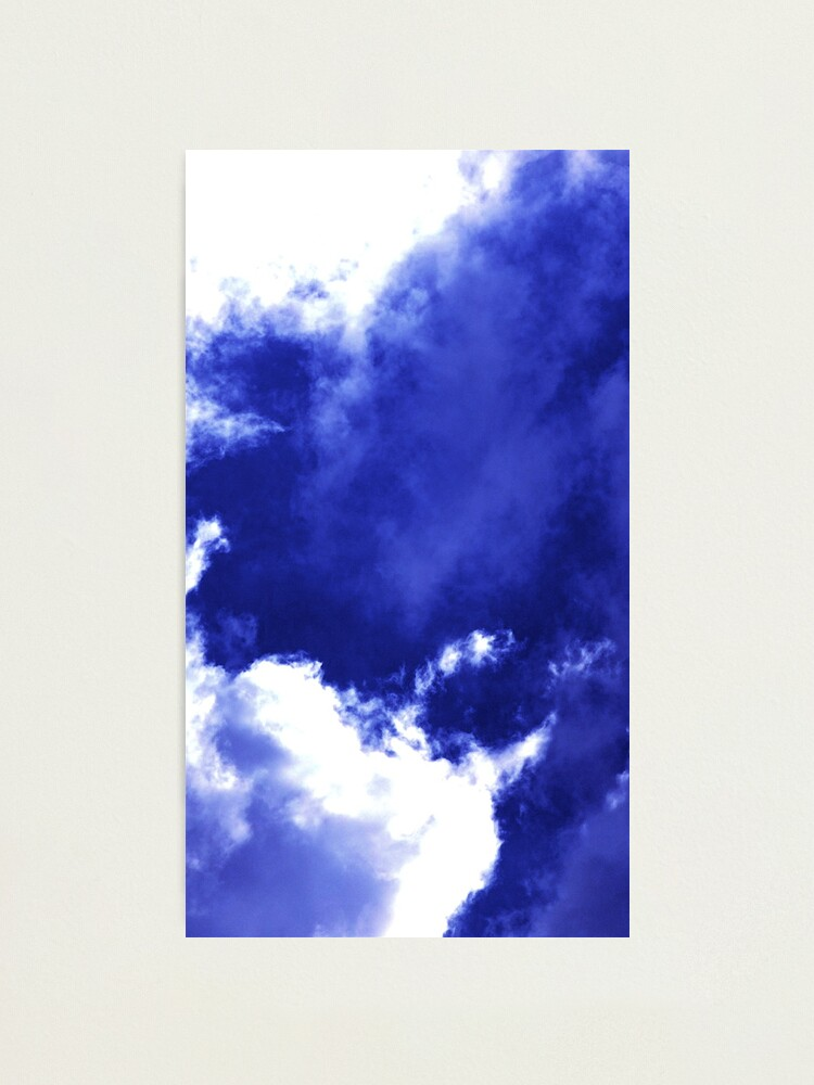 Alternate view of Unusual Cloud Formations Photographic Print