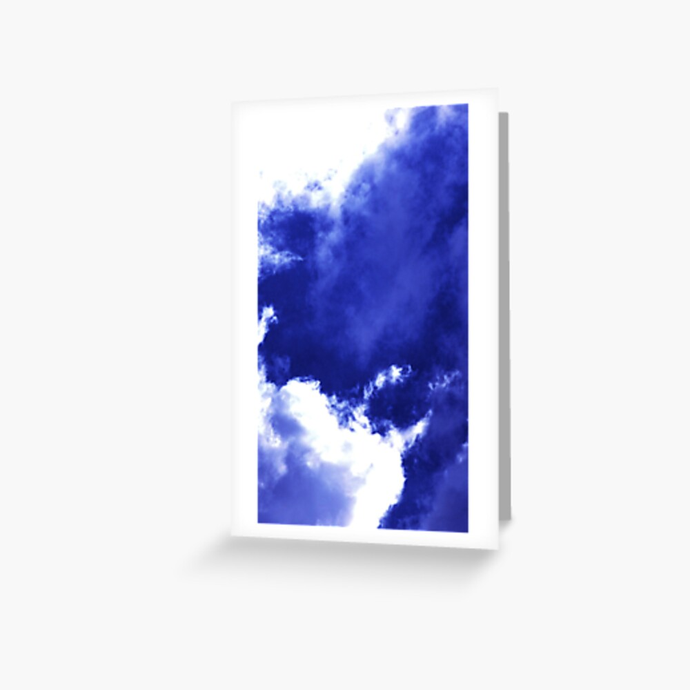Unusual Cloud Formations Greeting Card
