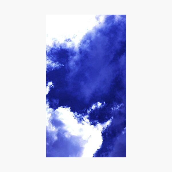 Unusual Cloud Formations Photographic Print