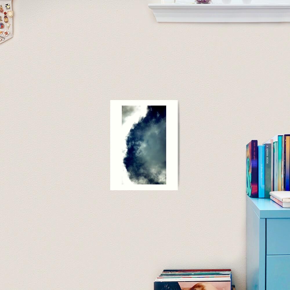 Cat Cloud Formation! Art Print