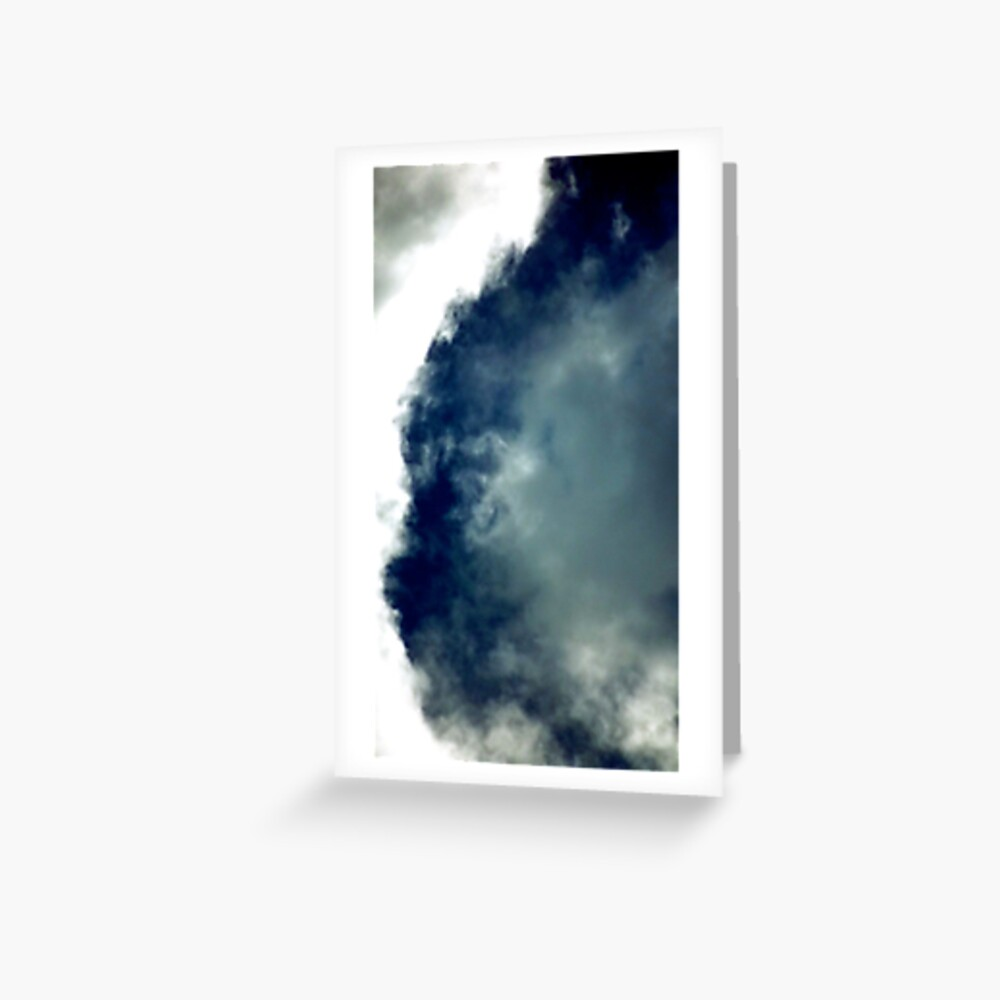 Cat Cloud Formation! Greeting Card