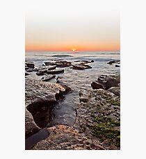Sunrise, Newcastle NSW Au Photographic Print