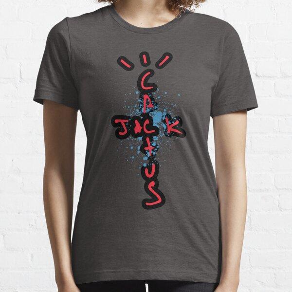 Travis Scott - Cactus Jack AJ4 Essential T-Shirt
