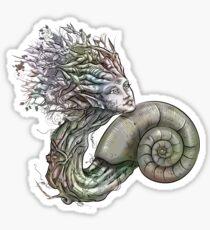 Spiral of life - Nature, Fibonacci T-Shirt Sticker