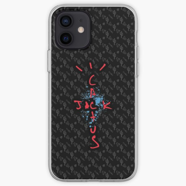 Travis Scott - Cactus Jack AJ4 Coque souple iPhone