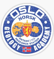 Norwegian Outpost Sticker