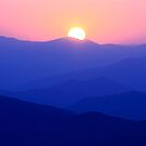 i Mountain Sunset by Gary L   Suddath