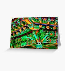 Korean Pavilion Greeting Card