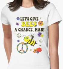 Let's Give Bees A Chance, Man T-Shirt