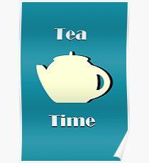Tea Time (Minimalist) Poster
