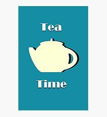 Tea Time (Minimalist) Photographic Print