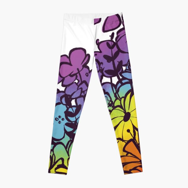 Pride Flowers Leggings