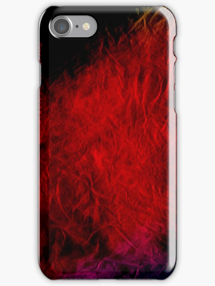 red, iPhone case by Gréta Thórsdóttir