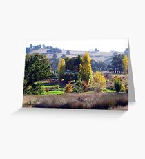 The Homestead in Early Autumn  -  A Thamo Greeting Card