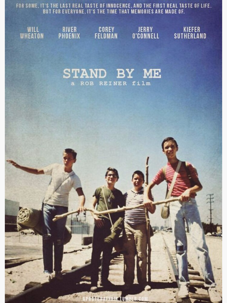 Stand By Me Poster  by tele-vision