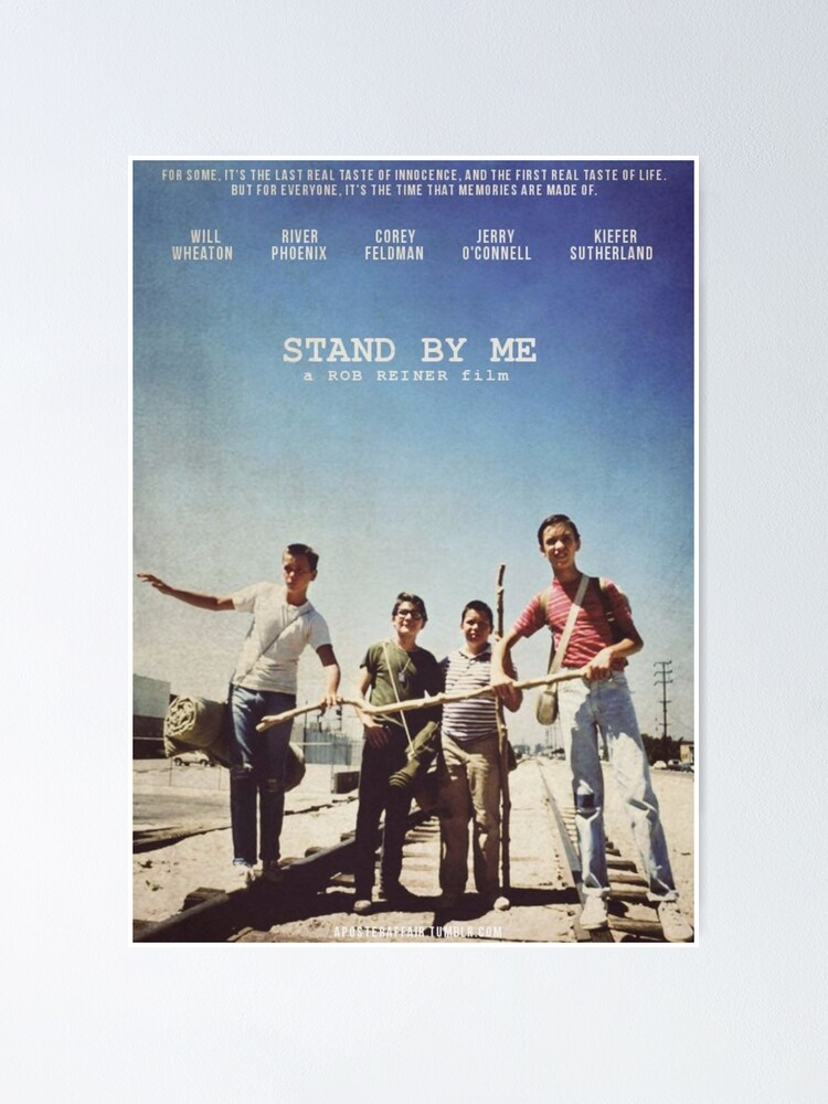 Alternate view of Stand By Me Poster  Poster