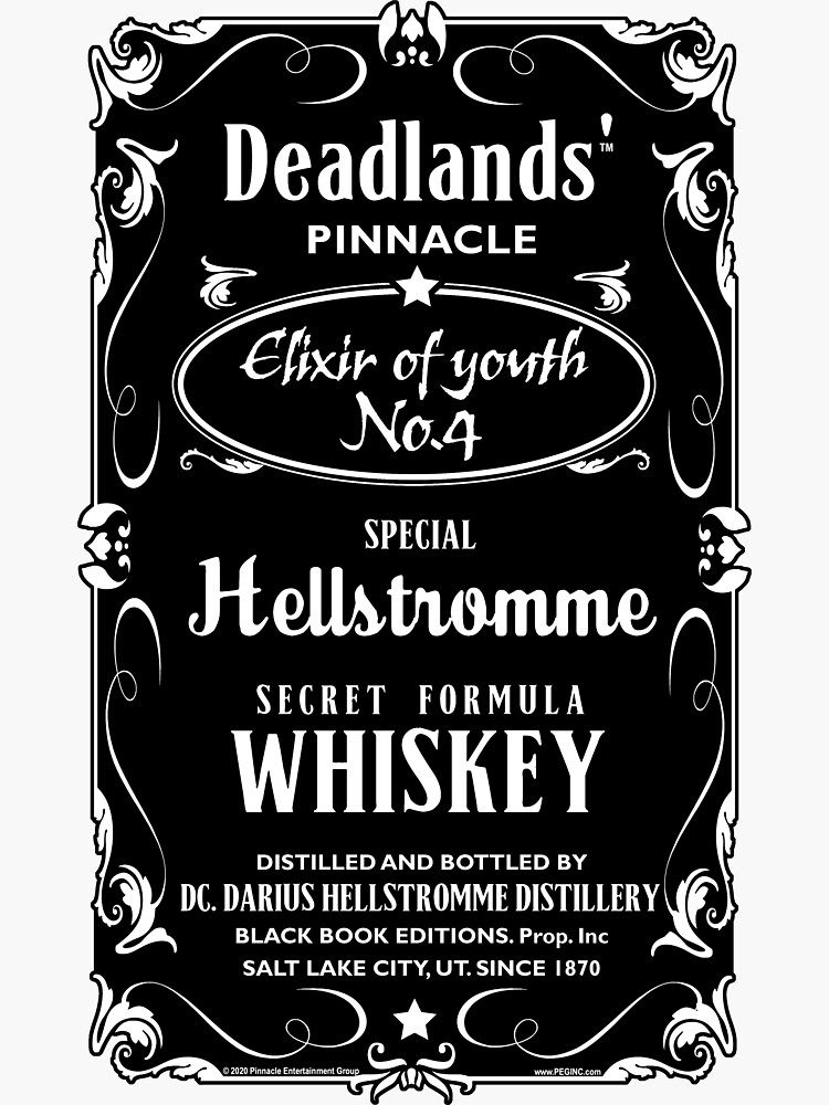 Hellstromme Secret Formula Whiskey by PEGShane