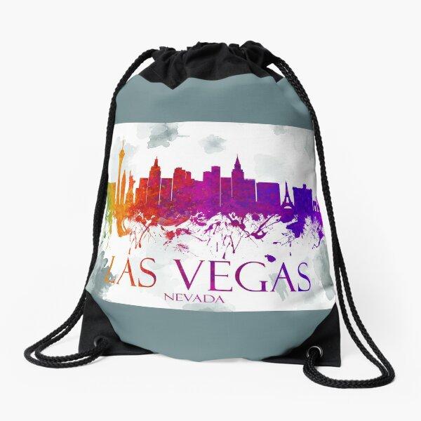 Las Vegas Nevada Skyline - 28 Drawstring Bag