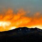 Fall Sunset by JoAnn GLENNIE