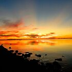 Sunset at Salt Lake by JoAnn GLENNIE