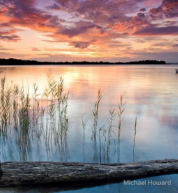 Mallabula sundown by Michael Howard