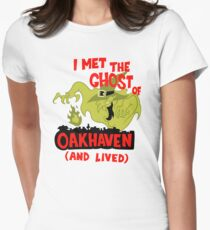 Ghost of Oakhaven Womens Fitted T-Shirt