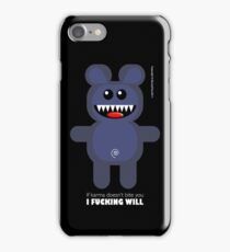 BEAR KARMA  iPhone Case/Skin