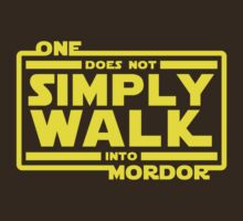 One Does Not Simply Walk