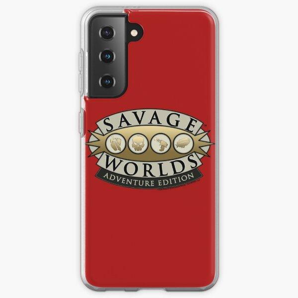 Savage Worlds Logo Samsung Galaxy Soft Case