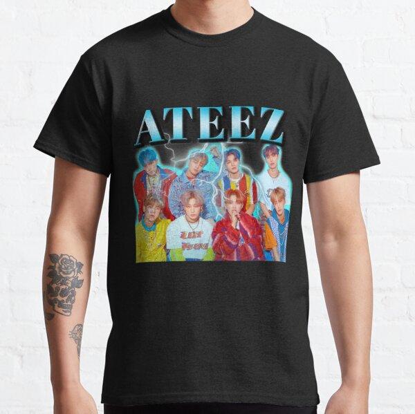 Chemise ATEEZ Vintage T-shirt classique