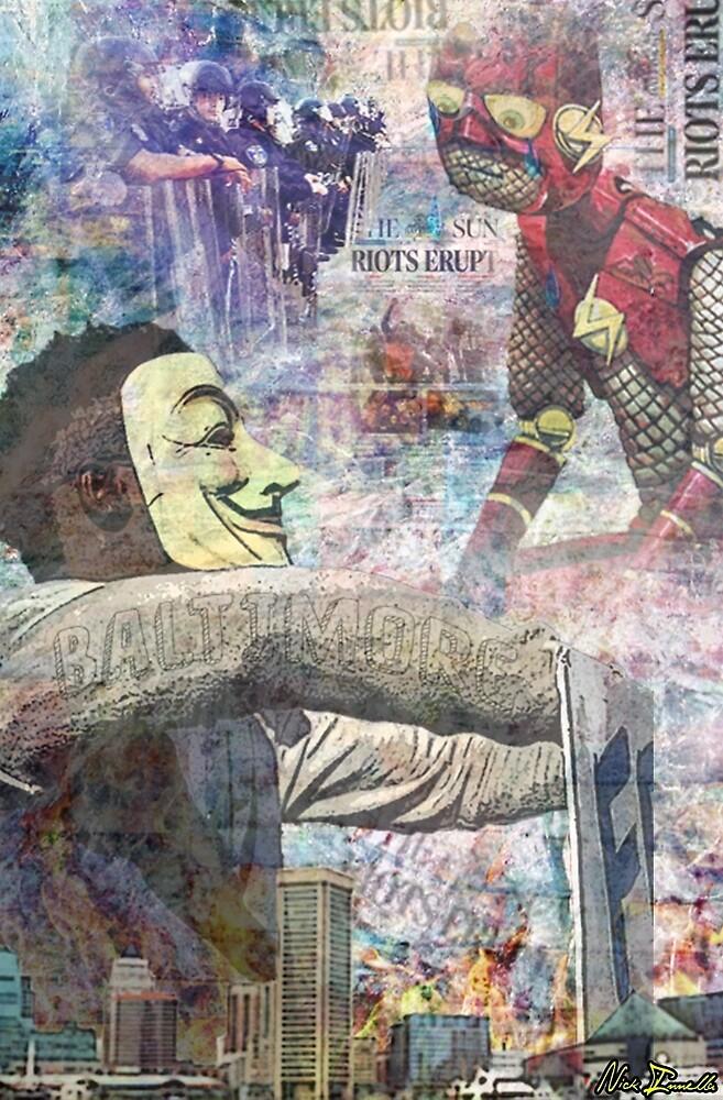 Baltimore Riots Tribute by Nick Innella