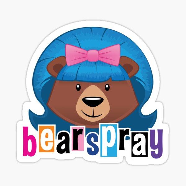 Bearspray Sticker