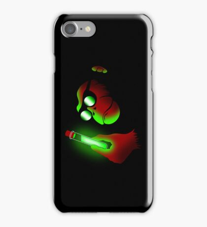 Weird Monkey Science iPhone Case/Skin