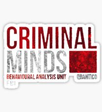 Criminal Minds BAU Sticker