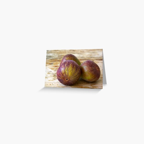 Figs on the table Greeting Card