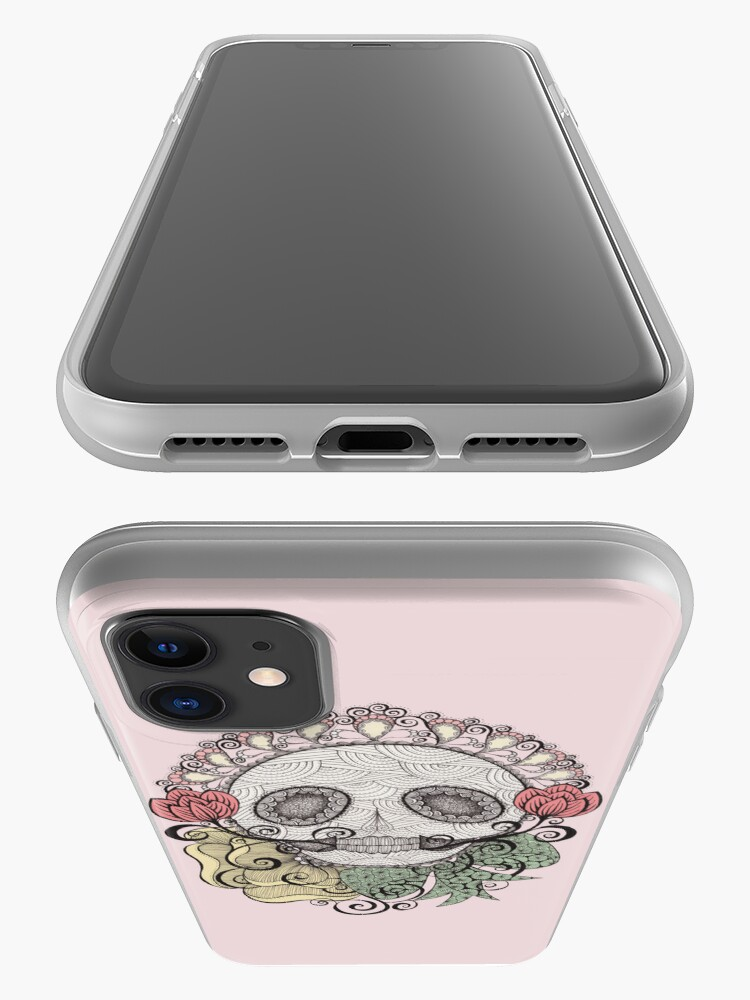 Alternate view of Skull Fiesta iPhone Case & Cover